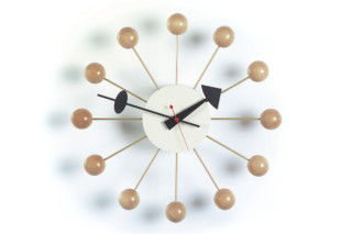 Ball Clock natural  by  Vitra