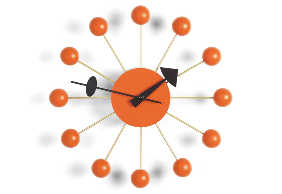 Ball Clock orange