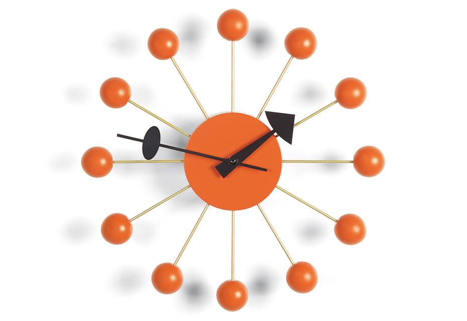 Ball Clock orange