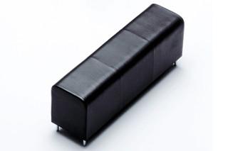 Bench three seater  by  Vitra