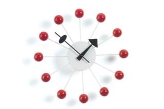 Ball Clock rot  von  Vitra
