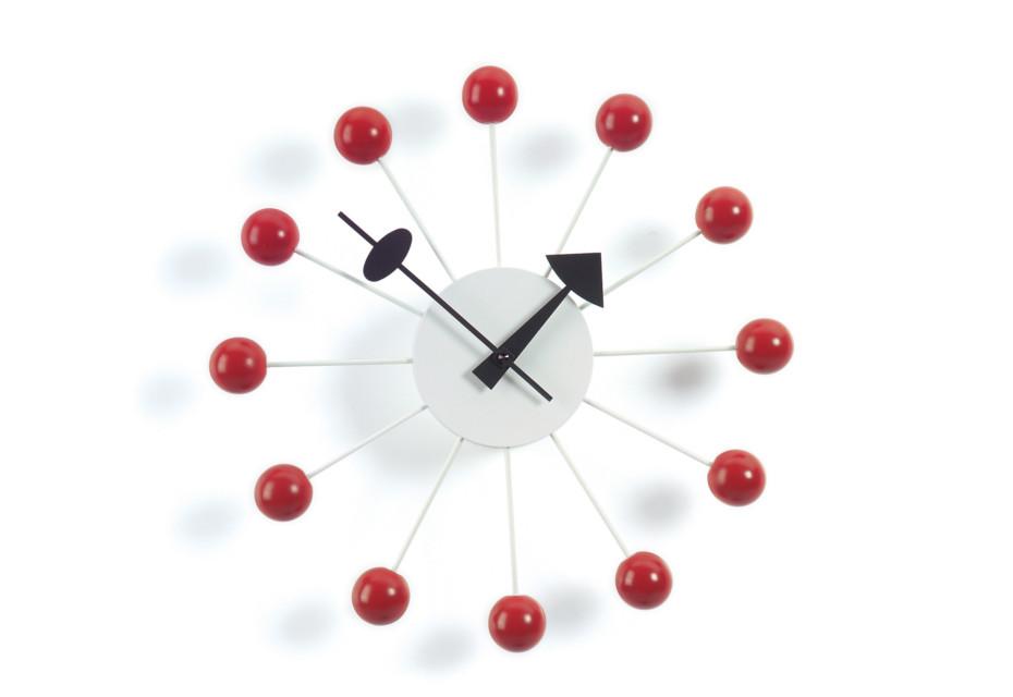 Block Clock red