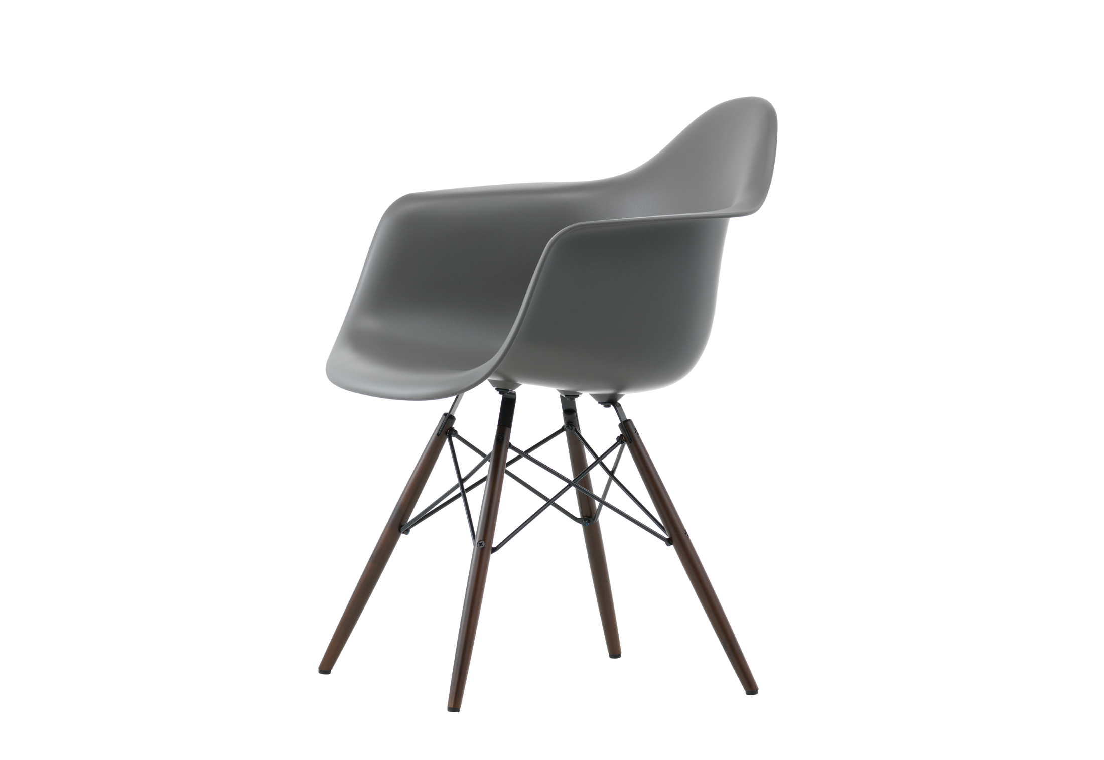 Eames Plastic Armchair DAR by Vitra | STYLEPARK