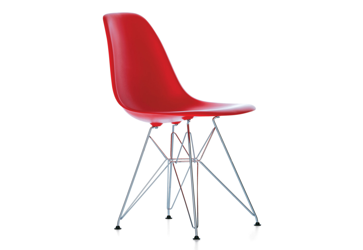 Eames plastic side chair dsr by vitra stylepark for Vitra eames kopie