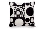 Pillow Maharam Geometri black/white  by  Vitra
