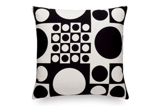 Pillow Maharam Geometri black/white  by  Vitra