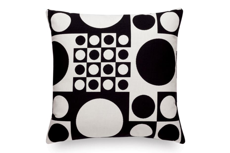 Kissen Maharam Geometri black/white