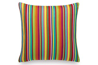 Pillow Maharam Millerstripe multicoloured bright  by  Vitra