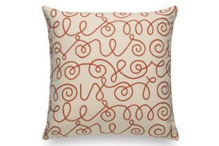 Pillow Maharam Names crimson on white  by  Vitra