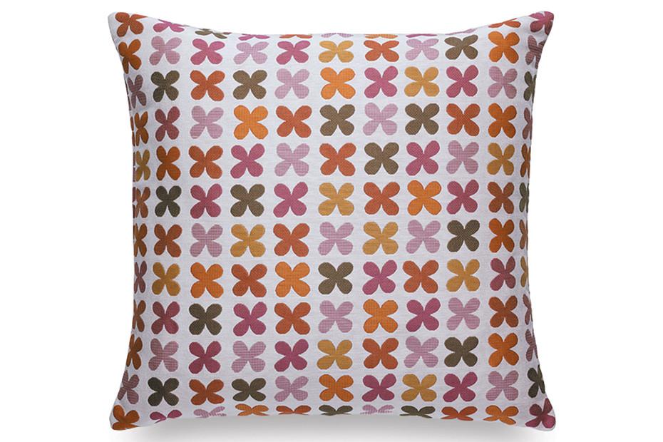Pillow Maharam Quatrefoil pink