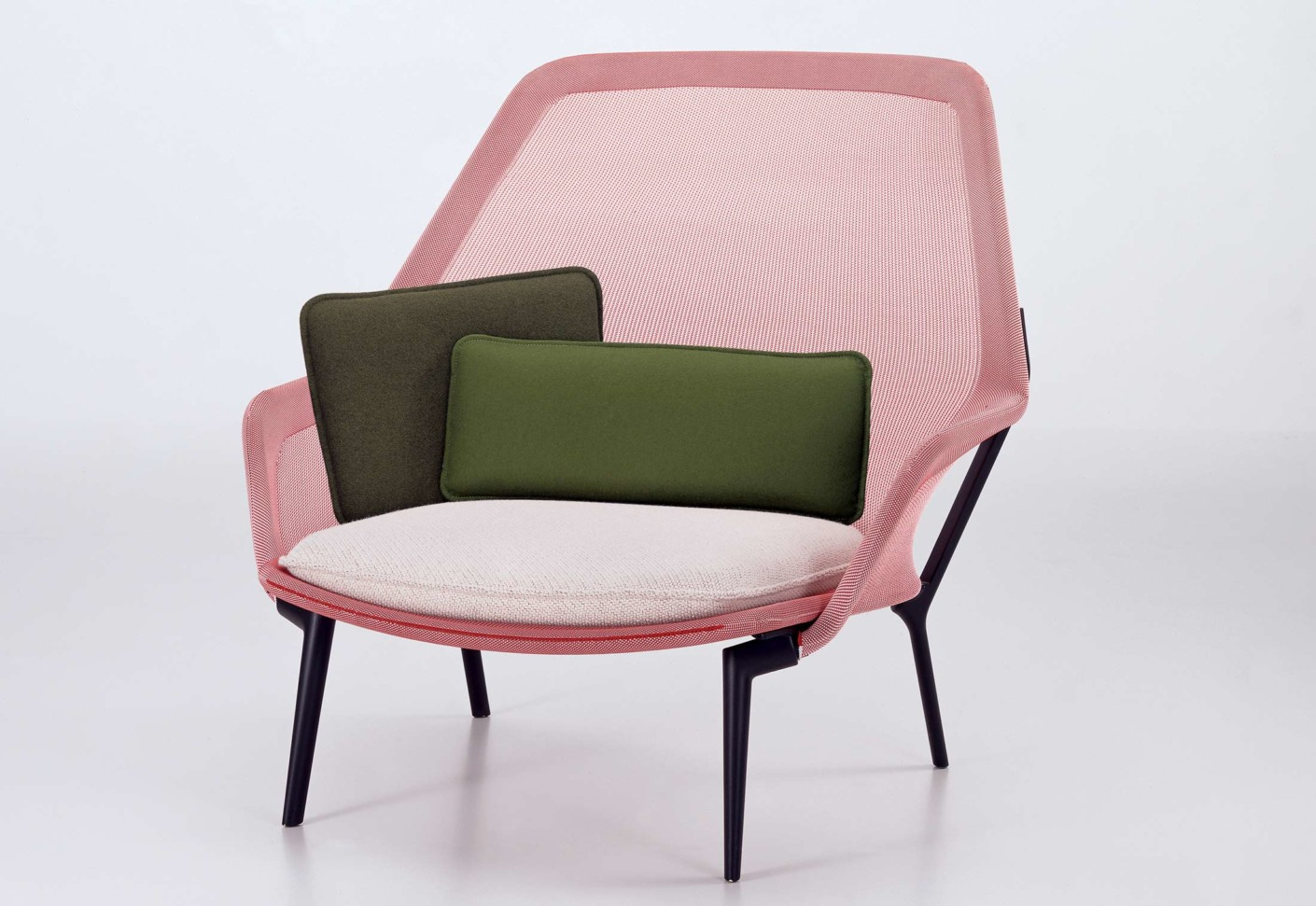 slow chair by vitra stylepark. Black Bedroom Furniture Sets. Home Design Ideas