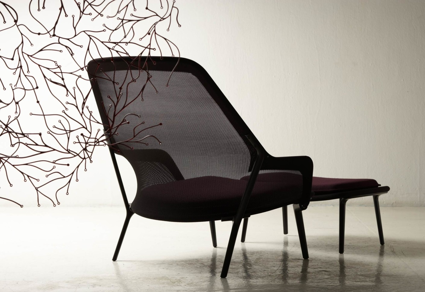 slow chair von vitra stylepark. Black Bedroom Furniture Sets. Home Design Ideas