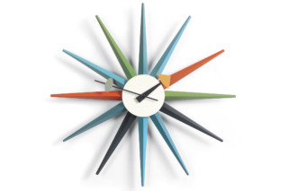 Sunburst Clock multicoloured  by  Vitra