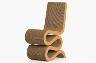 Wiggle Side Chair  von  Vitra