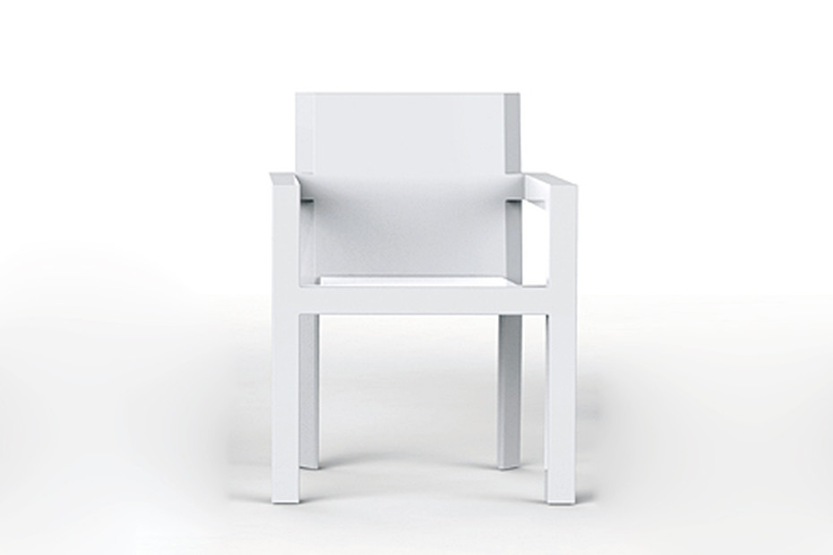 Frame with armrests