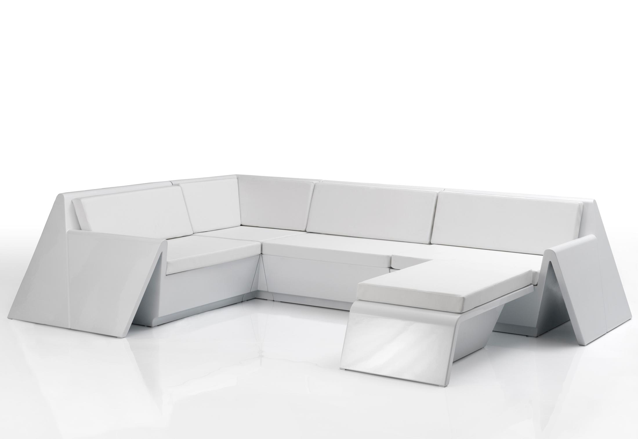 Rest corner sofa by vondom stylepark for Sofa exterior esquina
