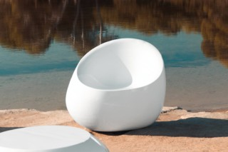 Stones armchair  by  VONDOM