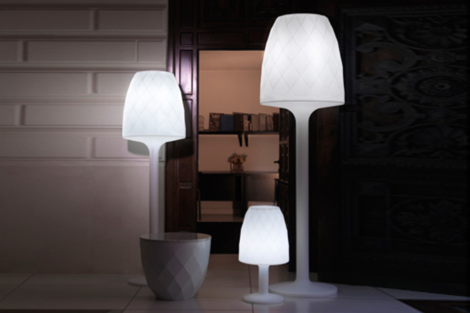 Vases LED floor lamp