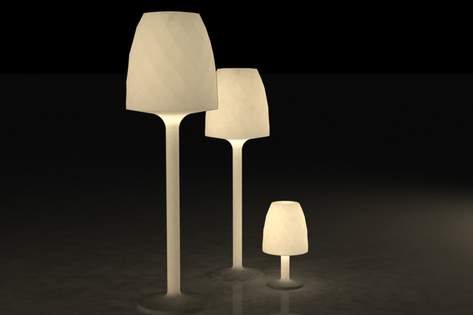 Vases LED floor lamp