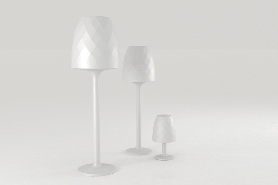 Vases LED table lamp