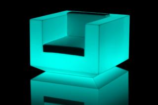 Vela armchair with light  by  VONDOM
