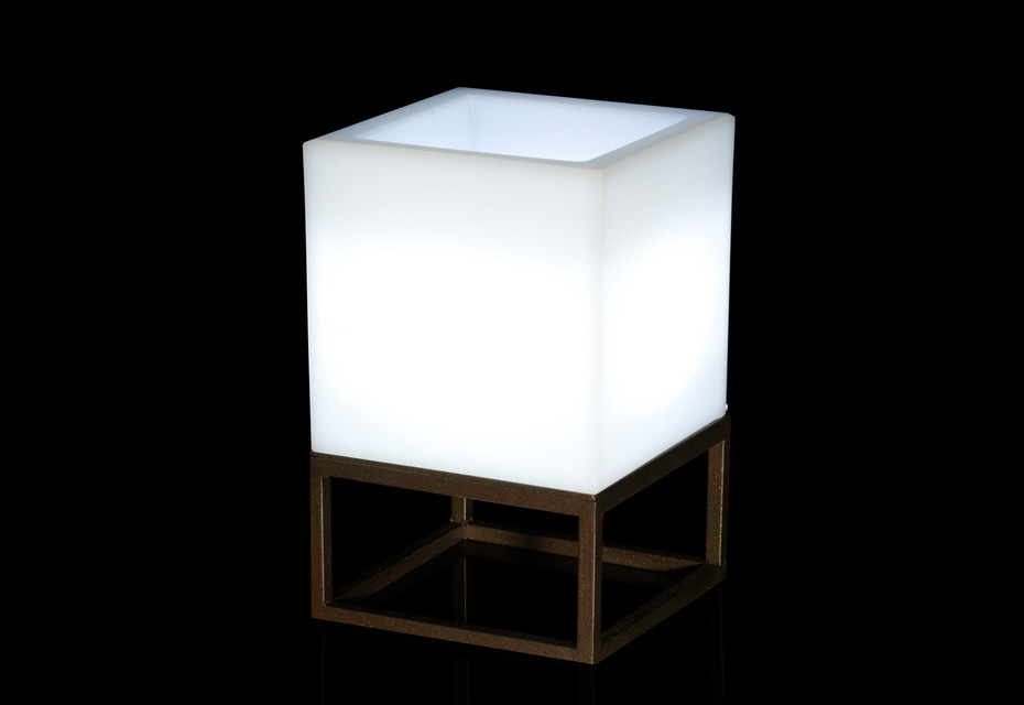 Vela lamp square