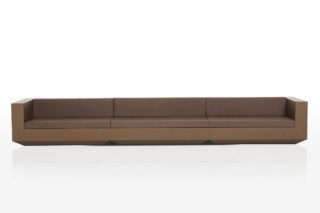 Vela sofa long  by  VONDOM