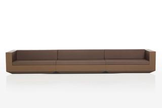 Vela sofa long  von  VONDOM