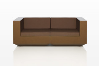 Vela sofa small  by  VONDOM