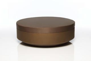 Vela stool round  von  VONDOM