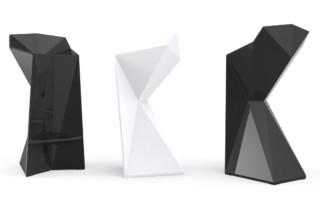 Vertex bar stool  by  VONDOM
