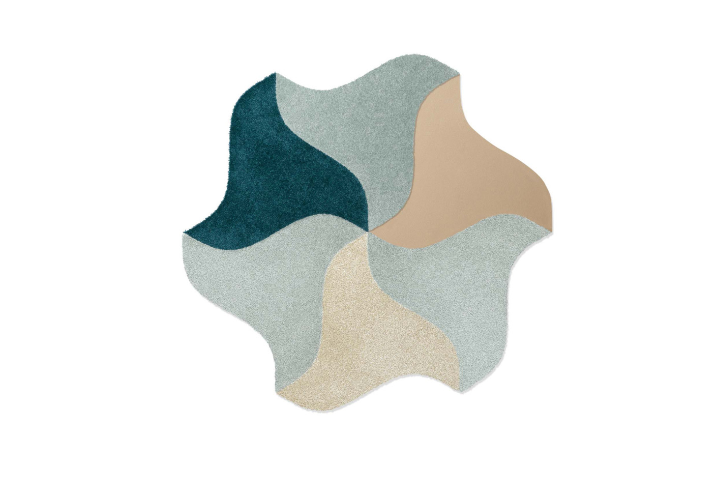 BLOOM Tiles Have An Organic Look And Can Be Combined In The Room To