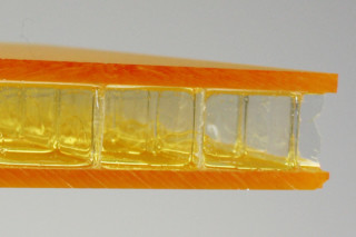 ViewPan® PMMA goldyellow satined  by  Wacotech