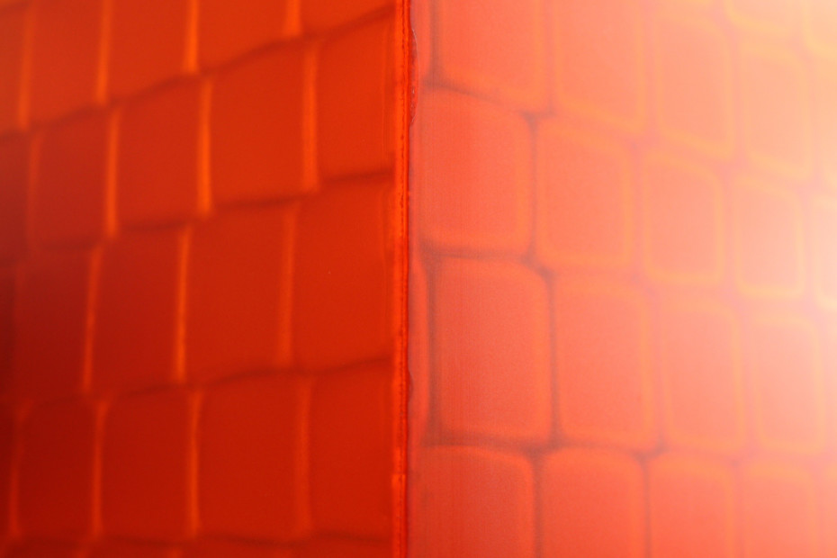 ViewPan® PMMA Orange satined