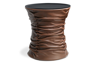 Bellows side table  by  Walter Knoll