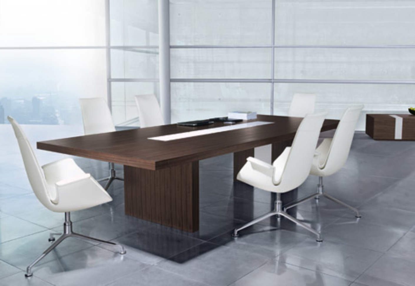 Ceoo conference table by walter knoll stylepark for Center table design for office
