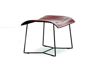 Cuoio Lounge stool  by  Walter Knoll