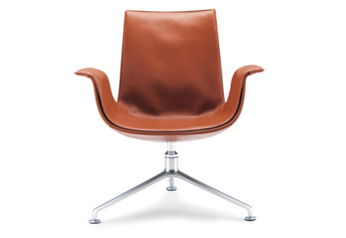 Genuine Pollock Knoll Office Chair Mid Century Executive