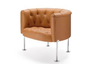 Haussmann 310 Armchair  by  Walter Knoll