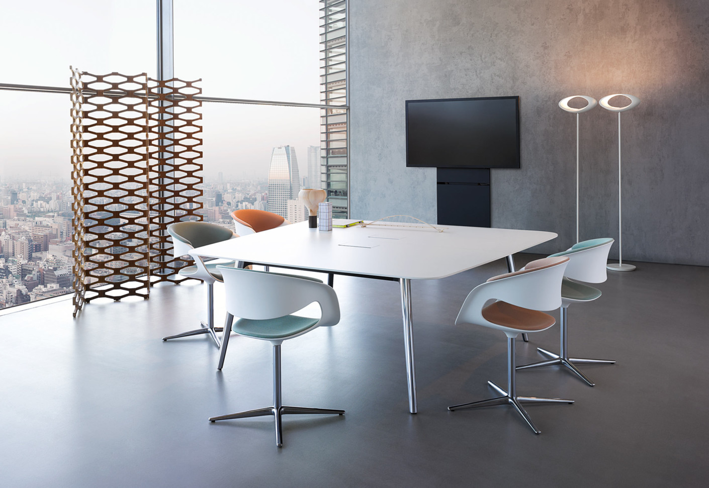 Keypiece Conference Table Square By Walter Knoll Stylepark