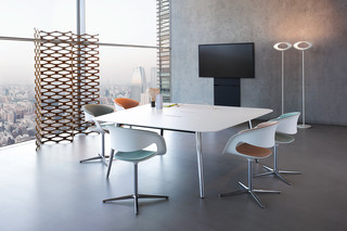 Keypiece conference table square  by  Walter Knoll