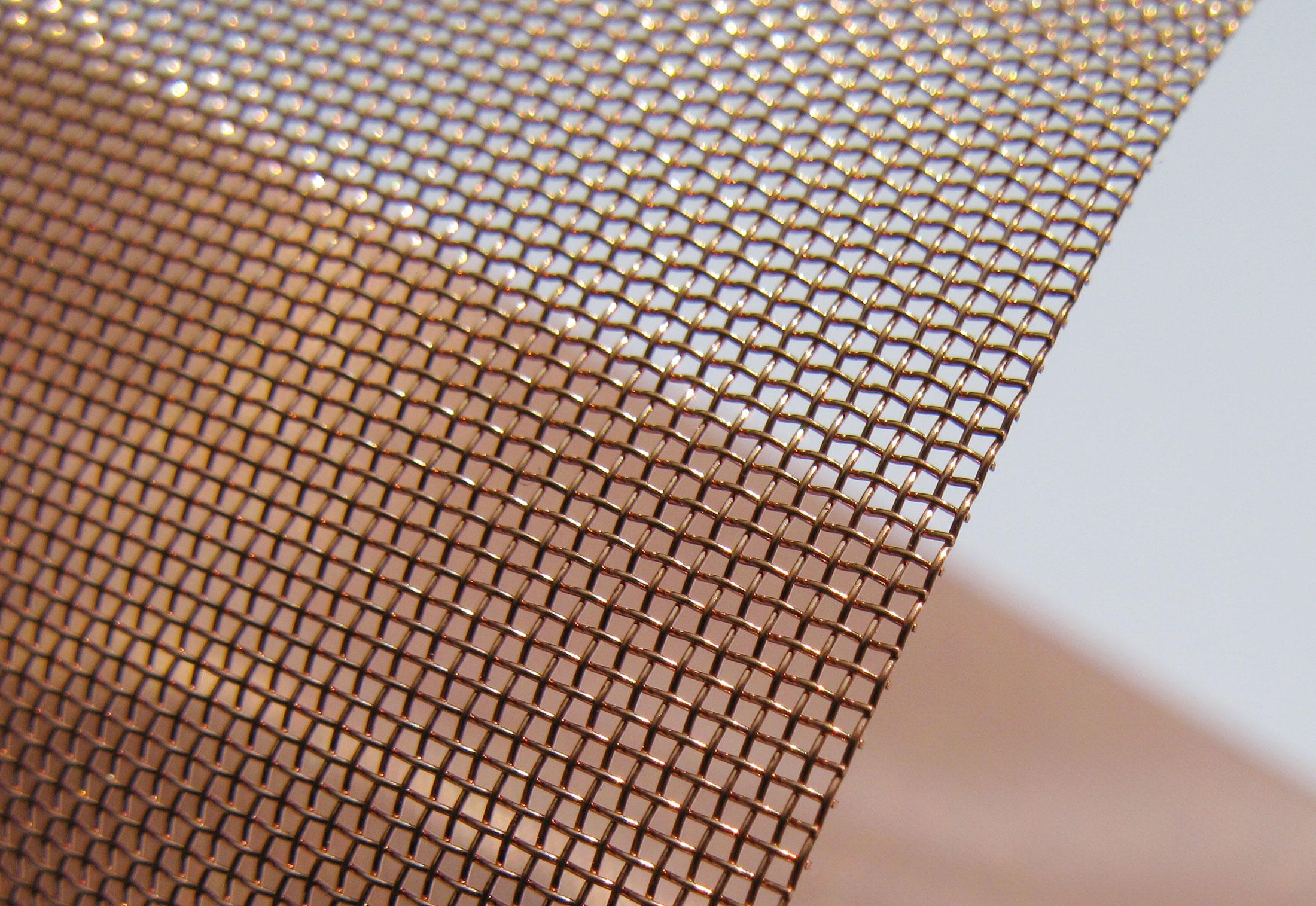 Copper Wire Mesh By Weisse Amp Eschrich Stylepark