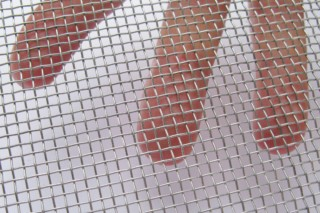 Galvanised Steel Wire Mesh  by  Weisse & Eschrich