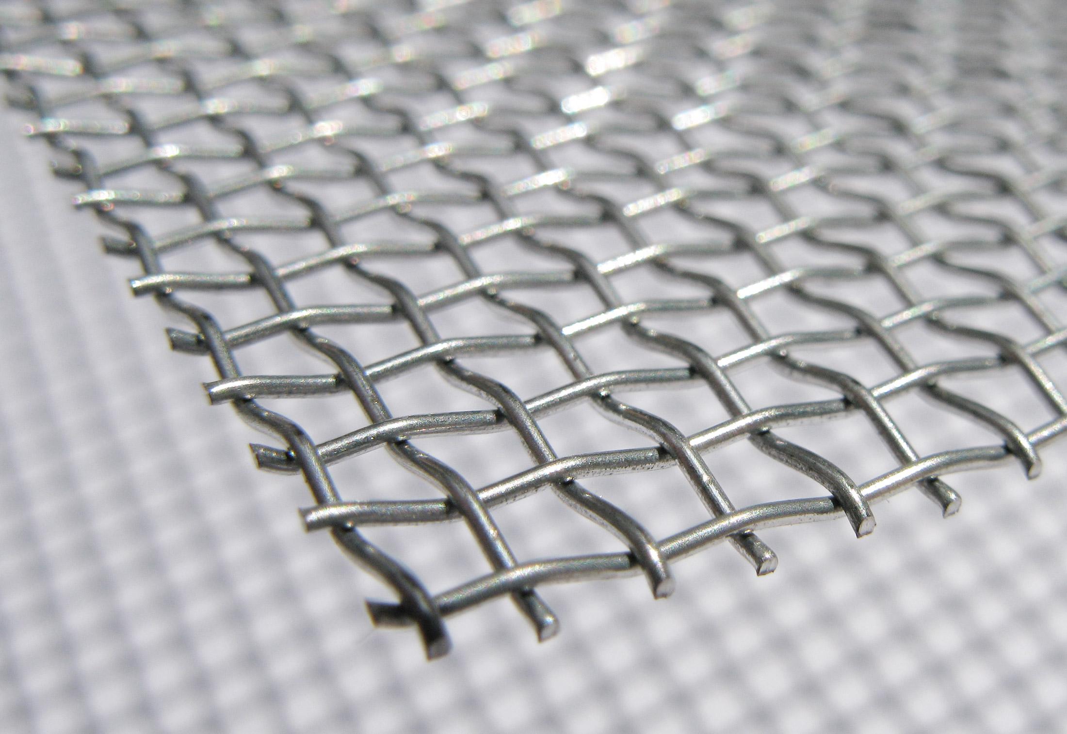 Galvanised Steel Wire Mesh by Weisse & Eschrich | STYLEPARK