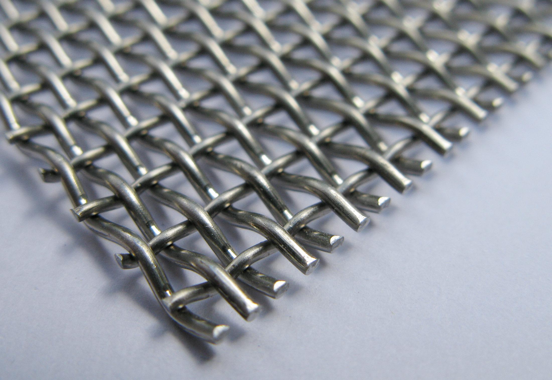 Stainless steel wire mesh by weisse eschrich stylepark