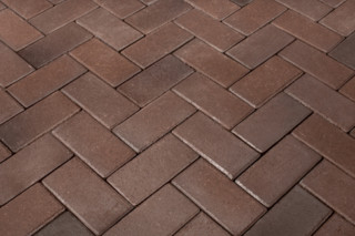 Braunbunt pavers  by  Wienerberger