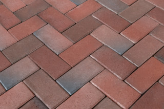 Rotblaubunt pavers  by  Wienerberger