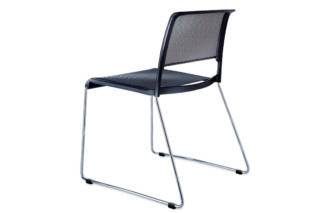 Aline 230/1 Skid-base chair  by  Wilkhahn