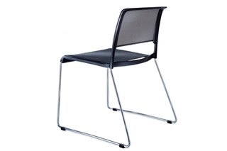 Aline 230/1 Skid-base chair  by  Wilkhahn
