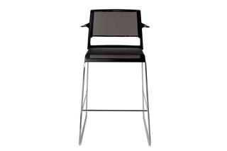 Aline 230/6 Bar stool  by  Wilkhahn